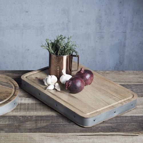 Kitchen Craft Industrial Skärbräda Rund