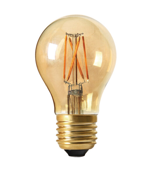 Ljuskälla E27 LED Elect Filament 2,5 w Amber