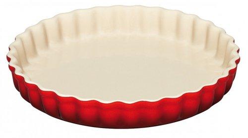 Le Creuset Pajform 28 cm Röd