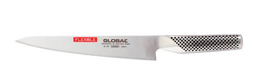 Global G-20 Bred Filékniv 24 cm flexibel