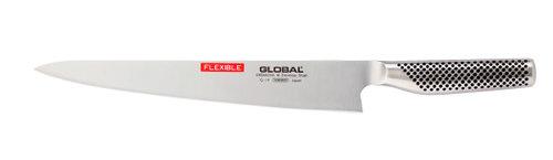 Global G-19 Bred Filékniv 27 cm flexibel