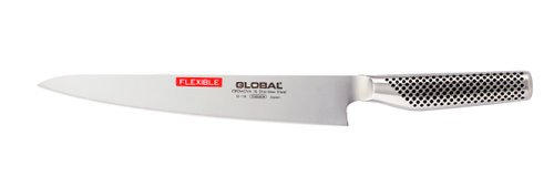Global G-18 Bred Filékniv 24 cm flexibel