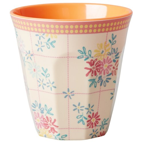Rice Mugg Embroidered Flower
