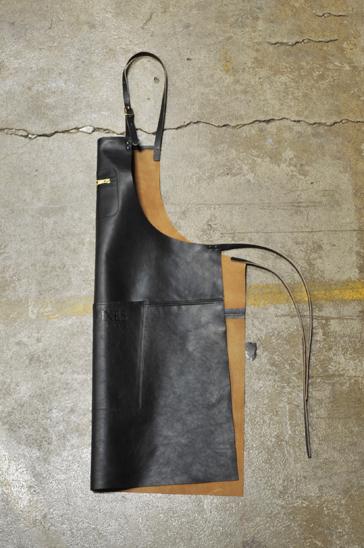 Dutchdeluxes Skinnförkläde Svart